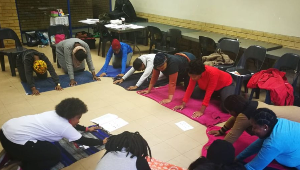 Promoting a healthy lifestyle for Soweto's moms-to-be