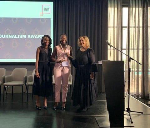 Health-e citizen journalist wins inaugural journalism award