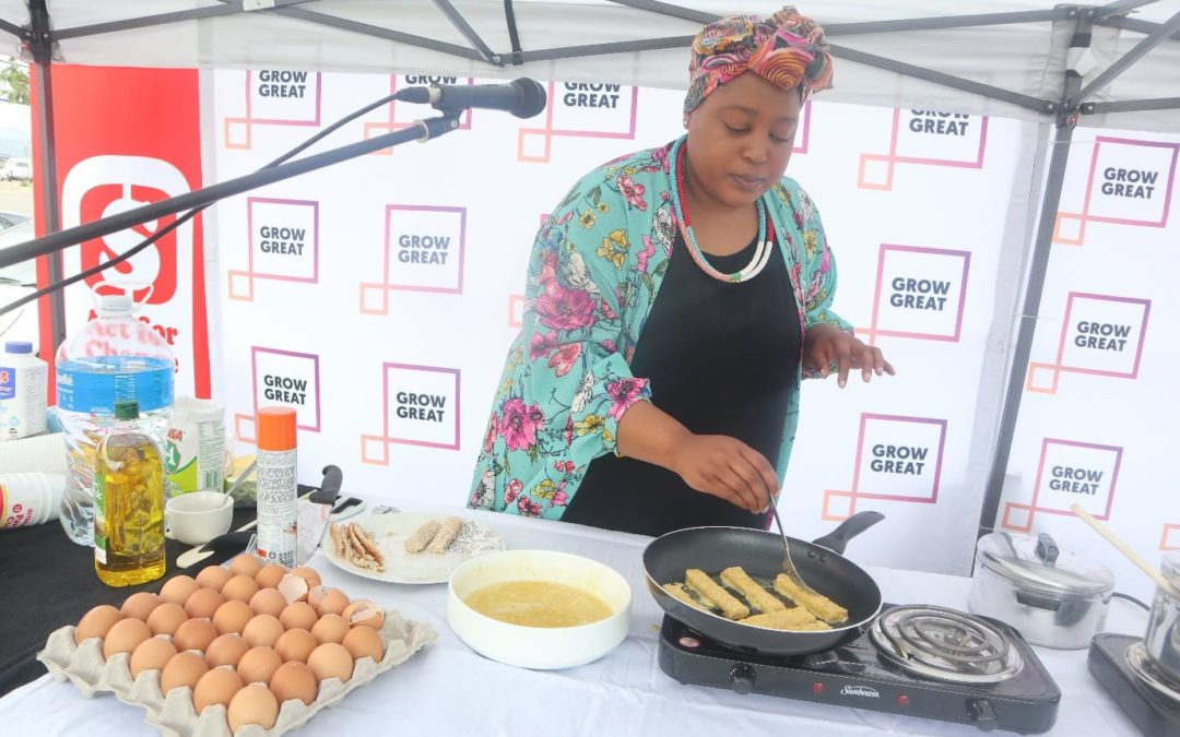 Grow Great takes magic of eggs to Alex East Bank Mall