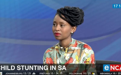 Grow Great Executive Director Dr Kopano Matlwa Mabaso discusses stunting on eNCA